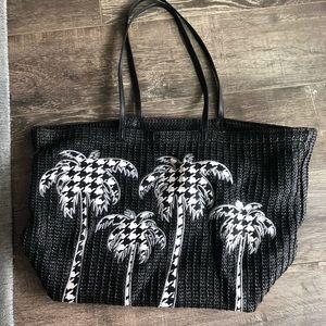 Vera Bradley black and white tote bag